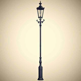 Antike Straßenlaterne 385cm